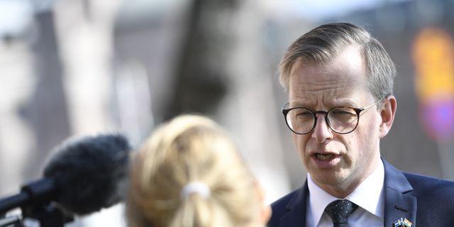Närings- och innovationsminister Mikael Damberg (S).  Henrik Montgomery/TT / TT NYHETSBYRÅN