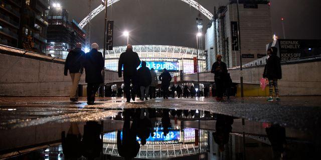 Wembley.  TOBY MELVILLE / BILDBYR N