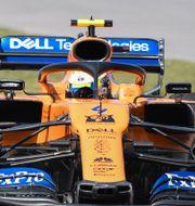 McLarens Formel 1-bil 2019. Graham Hughes / TT NYHETSBYRÅN