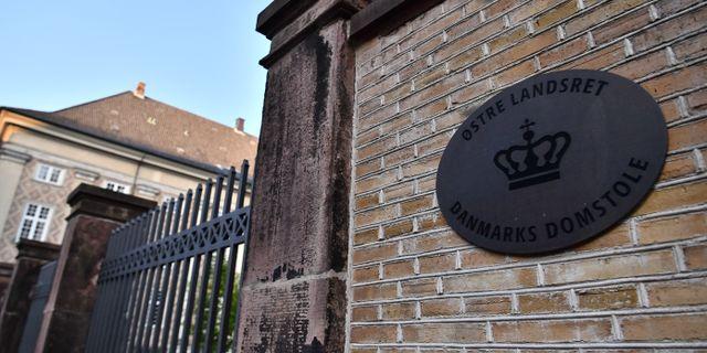 Østre Landsret i Köpenhamn, där hovrättsförhandlingarna återupptas i dag.  Johan Nilsson/TT / TT NYHETSBYRÅN