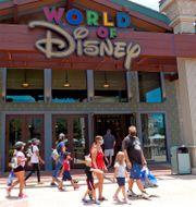 Disney-butik i Florida. Arkivbild. John Raoux / TT NYHETSBYRÅN