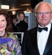 Drottning Silvia och kung Carl XVI Gustaf i Malmö i september. Johan Nilsson/TT / TT NYHETSBYRÅN