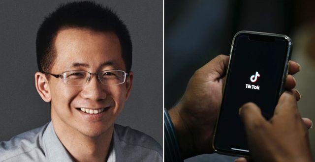 Bytedances vd och grundare Zhang Yiming. Bytedance
