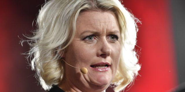 Socialdemokraternas partisekreteraren Lena Rådström Baastad. Jonas Ekströmer/TT / TT NYHETSBYRÅN