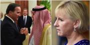 Arkivbilder. Stefan Löfven på besök i Saudiarabien. Margot Wallström. TT