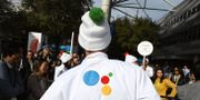 Ett Google-event i Nevada. ROBYN BECK / AFP