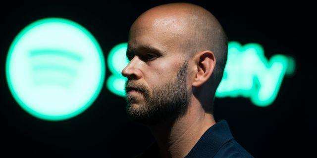 Daniel Ek, vd för Spotify.  Henrik Montgomery/TT / TT NYHETSBYRÅN