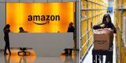 Amazons huvudkontor/Amazons paketcentral. TT