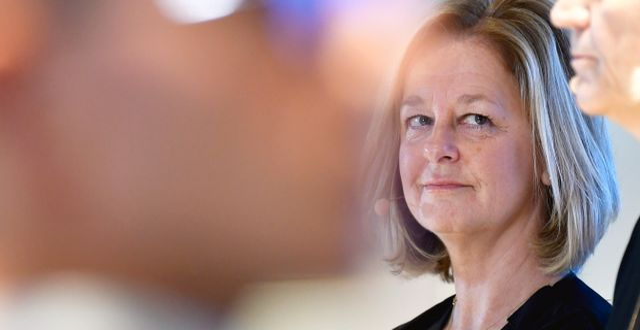 Telias vd Allison Kirkby. Janerik Henriksson/TT / TT NYHETSBYRÅN