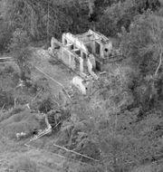 Bild från 1970 visar ruinerna från ett hem i My Lai. TT NYHETSBYRÅN