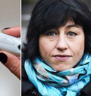 Hanne Kjöller ger sig in i abortdiskussionen. Arkivbilder. TT