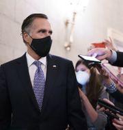 Mitt Romney i senaten J. Scott Applewhite / TT NYHETSBYRÅN