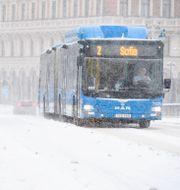 Buss 2 i Stockholm. Henrik Montgomery/TT / TT NYHETSBYRÅN