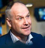 Vänsterpartiets ledare Jonas Sjöstedt. Jessica Gow/TT / TT NYHETSBYRÅN
