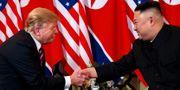 Donald Trump och Kim Jong-Un. Evan Vucci / TT NYHETSBYRÅN