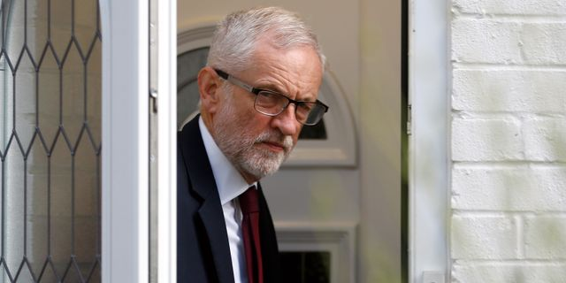 Jeremy Corbyn. HENRY NICHOLLS / TT NYHETSBYRÅN