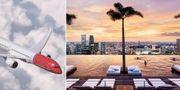 Norwegian börjar flyga till Singapore. Norwegian / Marina Bay Sands