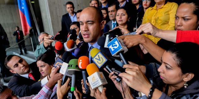 Julio Borges. Arkivbild. FEDERICO PARRA / AFP