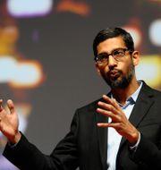 Googles vd Sundar Pichai.  Manu Fernandez / TT NYHETSBYRÅN