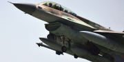 Ett israeliskt F16-plan/Arkivbild.  AP/TT