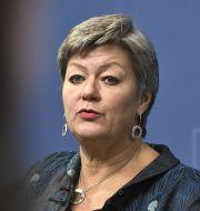 Arbetsmarknadsminister Ylva Johansson (S), arkivbild. Claudio Bresciani/TT / TT NYHETSBYRÅN