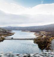 Suorvadammen högt upp i Lule älv. Arkivbild.  Carl-Johan Utsi / TT / TT NYHETSBYRÅN