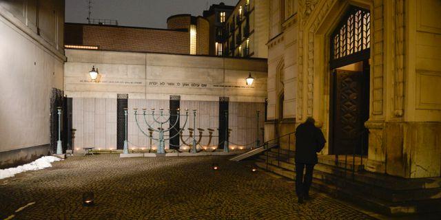 Judiska församlingen i Stockholm. Arkivbild. Vilhelm Stokstad / TT / TT NYHETSBYRÅN