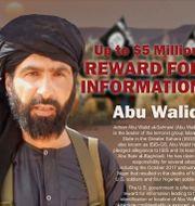 Adnan Abu Walid al-Sahraw.  TT NYHETSBYRÅN