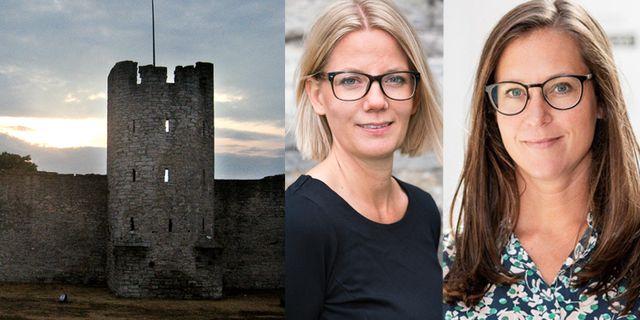 Menette von Schulman på S:t Clemens hotell och Frida Ganshed på Gotlands besöksnäring TT, S:t Clemens hotell, Gotlands besöksnäring
