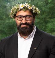 Hamid Zafar. Mattias Ahlm/Sveriges Radio