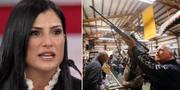 NRA:s talesperson Dana Loesch/vapenbutik. TT