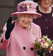 Drottning Elizabeth. Jacob King / TT NYHETSBYRÅN