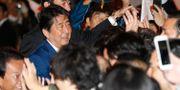 Japans premiärminister Shinzo Abe.  Eugene Hoshiko / TT / NTB Scanpix