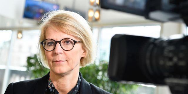 Elisabeth Svantesson. Jessica Gow/TT / TT NYHETSBYRÅN