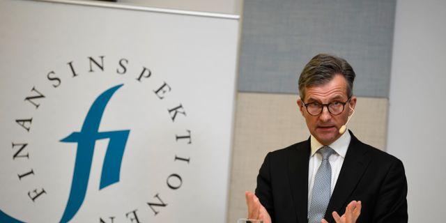 Finansinspektionens generaldirektör Erik Thedéen Pontus Lundahl/TT / TT NYHETSBYRÅN