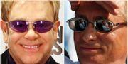 Elton John, Vladimir Putin TT