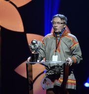 Lars- Anders Baer, ordförande för  Luokta Mavas sameby. Erik Simander/TT / TT NYHETSBYRÅN