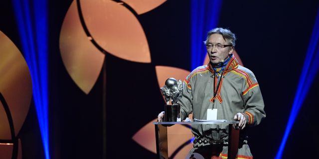 Lars Anders Baer, ordförande för  Luokta Mavas sameby. Erik Simander/TT / TT NYHETSBYRÅN