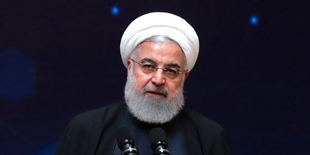 Rohani under talet.  HO / Iranian Presidency