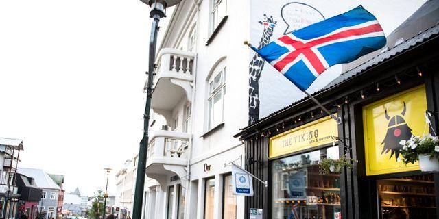 Arkivbild. Reykjavik. PONTUS LUNDAHL / TT / TT NYHETSBYRÅN