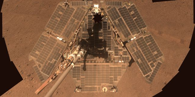 Rymdsonden Opportunity.  NASA / TT NYHETSBYRÅN