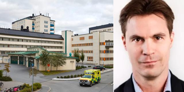 Akademiska sjukhuset/Gustav Ullenhag, överläkare. TT/Pressbild