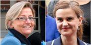Anna Lindh (t v), Jo Cox (t h) TT