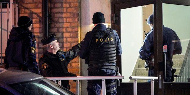 Radikal islamist gripen av polis