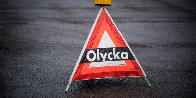 Larmet om olyckan utanför Hallsberg kom klockan 10.24  Pontus Lundahl/TT / TT NYHETSBYRÅN