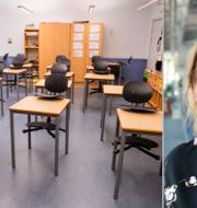 Stängd skola i Norge, Johanna Jaara Åstrand. TT
