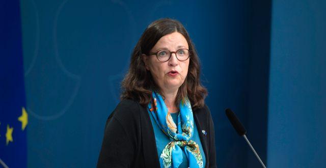 Anna Ekström. Amir Nabizadeh/TT / TT NYHETSBYRÅN