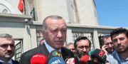 President Recep Tayyip Erdogan. TT NYHETSBYRÅN/ NTB Scanpix