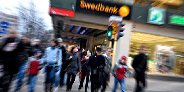 Enormt haveri hos swedbank