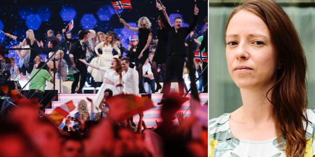 Eurovision/Åsa Lindhagen (MP). TT
